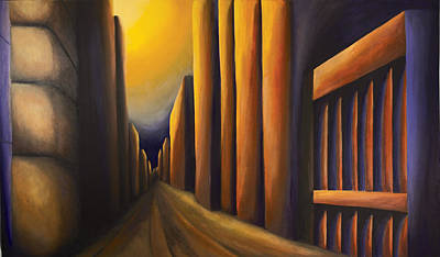 Sunset On De Maisonneuve Original by Duane Gordon