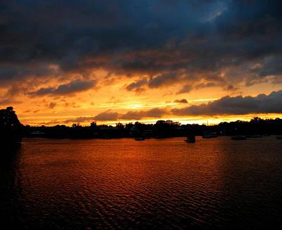 Photograph - Sunset On King's Bay by Judy Wanamaker