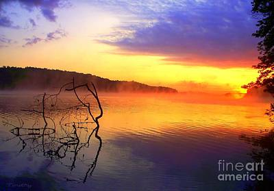 Photograph - Sunset On Lake Barkley by Greg Moores