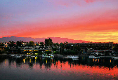 Photograph - Sunset On Lake Havasu by Kristin Elmquist