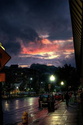 Western Ma Photograph - Sunset On Main by Joshua Volff