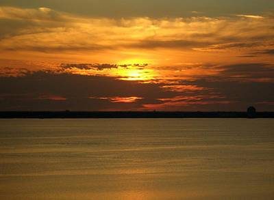 Photograph - Sunset On Tampa Bay by Riley Geddings