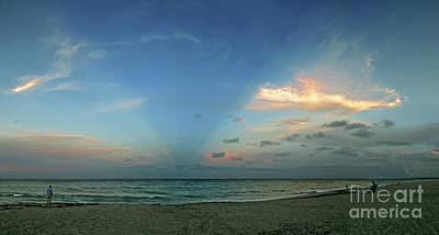 Photograph - Sunset On The Atlantic Ocean by Richard Nickson