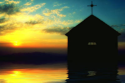 Photograph - Sunset On The Chapel Mount - Tramonto Sulla Cappelletta Montana by Enrico Pelos