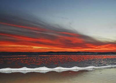 Photograph - Sunset On The Edge by David Martorelli