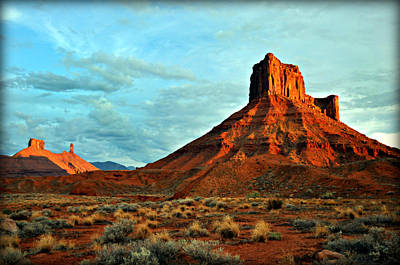 Sunset On The Mesa Print by Marty Koch