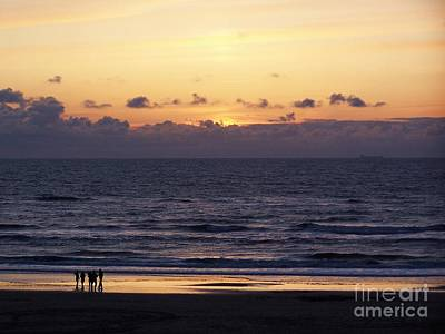 Zandvoort Photograph - Sunset On The North Sea by Patricia Land