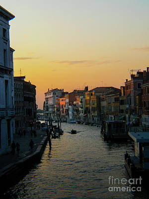Photograph - Sunset On Venezia by Tom Migot