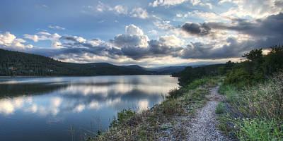 Nederland Colorado Photograph - Sunset Over Barker Lake by Noah Katz