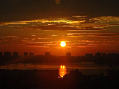 Lil Alberti Photograph - Sunset Over Biscayne Bay by Lil Alberti