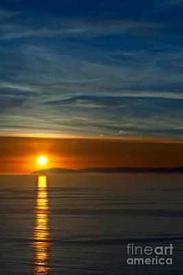 Sunset Over Catalina Art Print