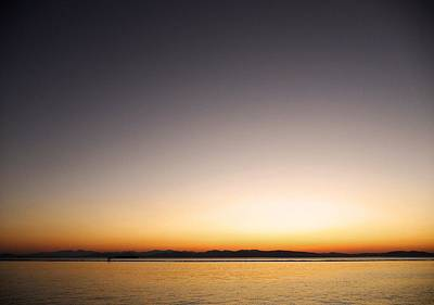 Photograph - Sunset Over Lake Champlain - Vermont  by Juergen Weiss