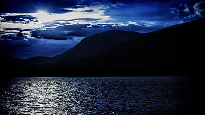 Photograph - Sunset Over Loch Linnhe Near Fort William In Scotland by Zoe Ferrie