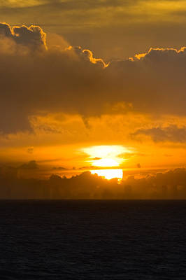 Photograph - Sunset Over Miami by Ed Gleichman