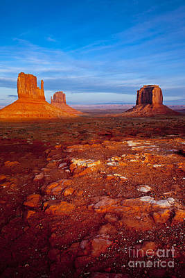 Photograph - Sunset Over Monument Valley by Brian Jannsen