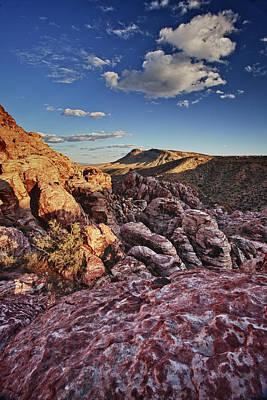 Sunset Over Red Rocks Art Print by Rick Berk