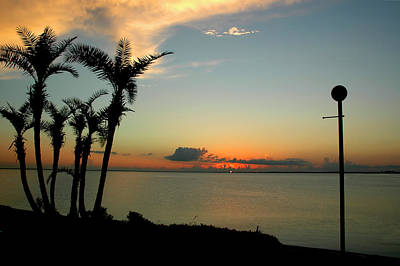 Photograph - Sunset Over Tampa Bay by Carolyn Marshall