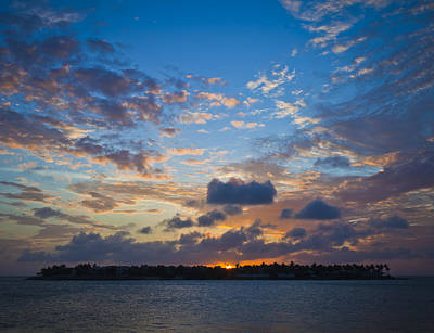 Photograph - Sunset Over Tank Island by Scott Meyer