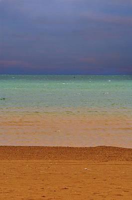 Photograph - Sunset Over The Mediterranean by Ellen Heaverlo