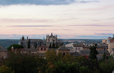 Photograph - Sunset Over Toledo by Lorraine Devon Wilke