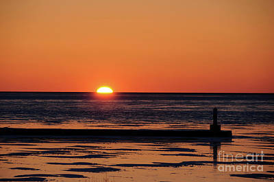 Photograph - Sunset Park Petoskey Mi by Ronald Grogan
