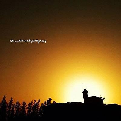 Pop Art Wall Art - Photograph - Sunset #pop #popular #pop_page by Jassim Mohammad