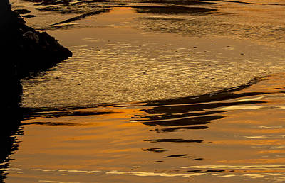 Photograph - Sunset Reflected. by Jean Noren