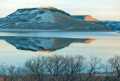 Photograph - Sunset Reflection by David Waldrop