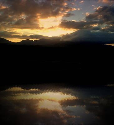 Photograph - Sunset Reflection by Elizabeth  Doran