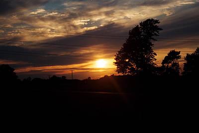 Christina Miller Photograph - Sunset Silhouette by Christina Miller