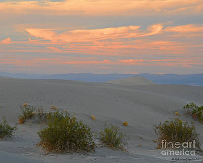 Photograph - Sunset Sky Over Death Valley National Park by Schwartz Nature Images