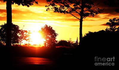 Sunset Soon Art Print by Alexander Photography