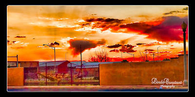 Photograph - Sunset Station by Linda Constant