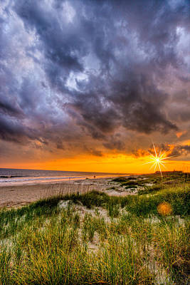 Photograph - Sunset Storm by Ches Black