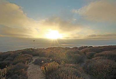 Photograph - Sunset Tp Glider Port by Jeremy McKay