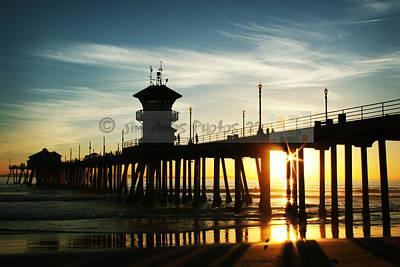 Sunset Under The Pier Original
