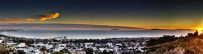 Sunset Ventura Ca Art Print by Joe  Palermo