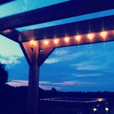 Vineyard Photograph - #sunset #vineyard by T C