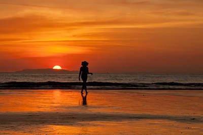 Photograph - Sunset Walk by Anthony Doudt