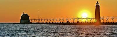 Burland Photograph - Sunset Walk by Burland McCormick