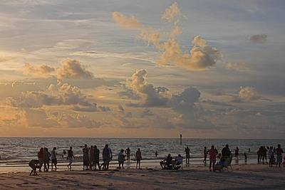 Photograph - Sunset Watchers by Jeanne Kay Juhos