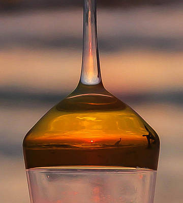Photograph - Sunset Wine by Sean Allen