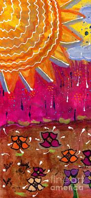 Sunshine And Rain Art Print