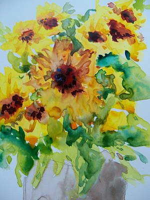 Painting - Sunshine Bright by Sandy Collier