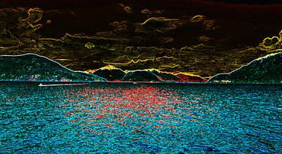 Sunshine Coastin' Art Print by Travis Crockart
