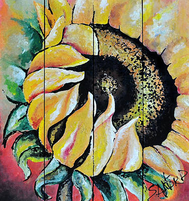 Amanda Drawing - Sunspots by Amanda  Sanford