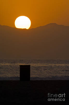 Sunst Over Malibu  Print by Micah May