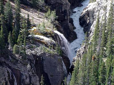 Photograph - Sunwapta River by George Cousins