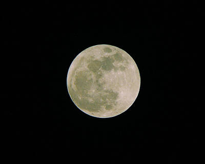 Art Print featuring the photograph Super Moon May 5  2012 by Brian Wright