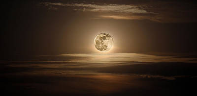 Photograph - Super Moon Of 2012 by Elizabeth Hart